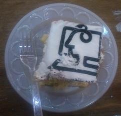 کیک 25 سالگی دانشکده ی کامپیوتر و فناوری اطلاعات دانشگاه صنعتی امیرکبیر