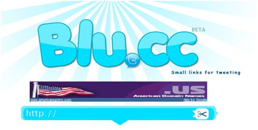 سایت كوتاه كننده ی آدرس blu.cc - url shorteners